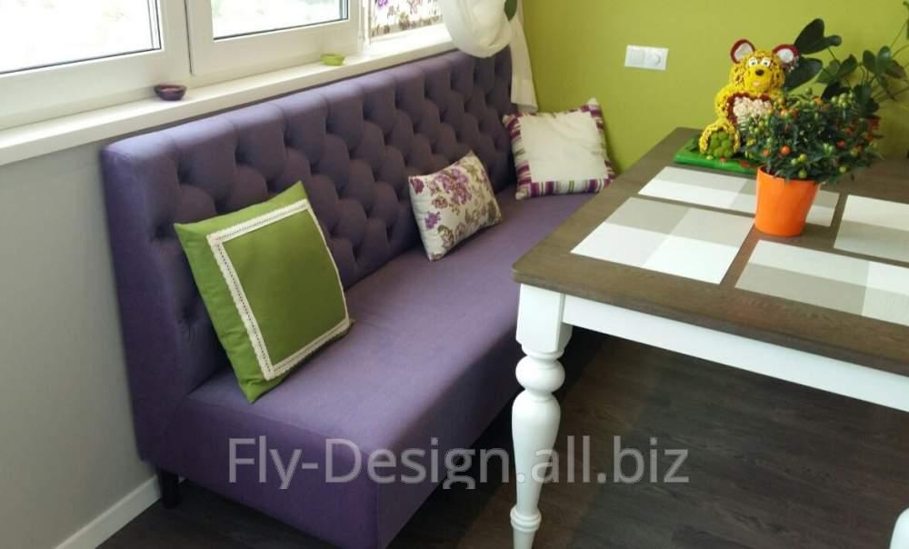 мягкий яркий диван для кухни купить в броварах