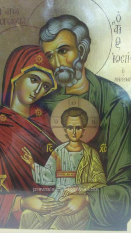 Купить Икона Греческая Св. Семейство
