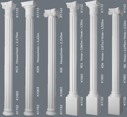 Колонны декоративные колонны из