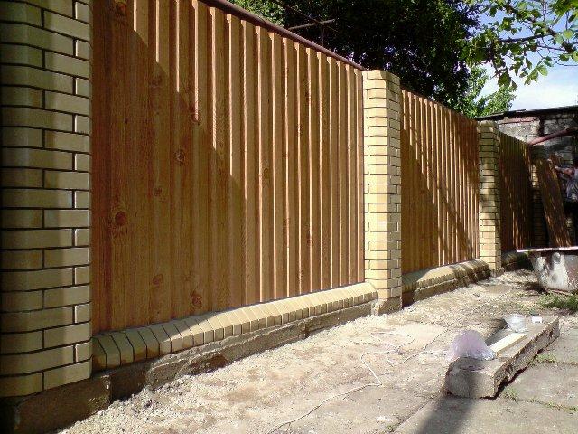 Забора забор из профнастила донецк