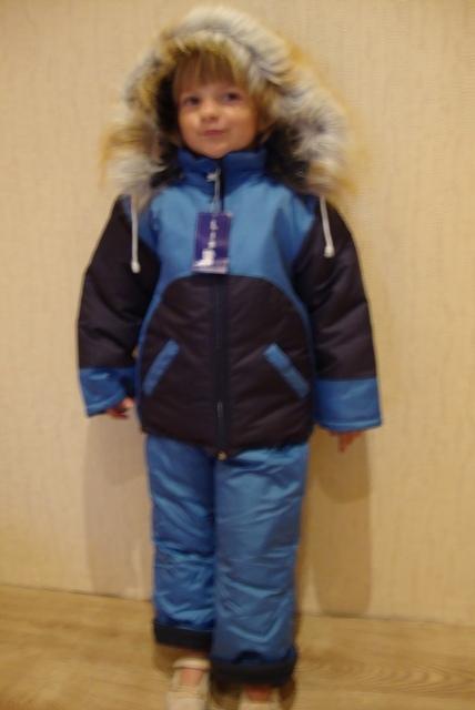 Детский зимний комбинезон  модель 806