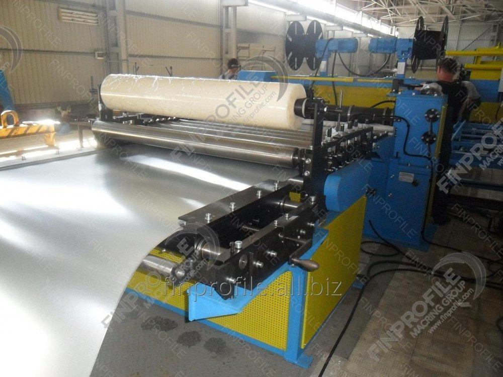 Оборудование для продольно-поперечной резки рулонной стали