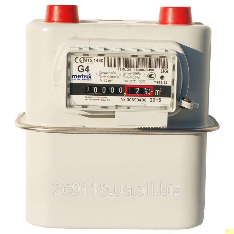 Счетчик газа Metrix G4 (Метрикс)