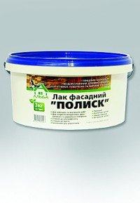 Лак фасадний ПОЛИСК (1 кг)