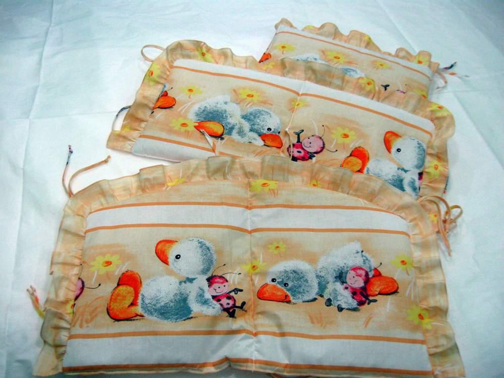 Комплект постільної білизни в дитяче ліжечко - 8 предметів від виробника  Львов 8e1e1809d50b7