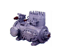 Buy Compressors 5PB7-2-024 (2FVBS4. 1PB7). It is intended for work as a part of the automated permanent and transport refrigeration units and conditioners. Type — piston bessalnikovy with the built-in electric motor.
