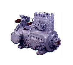 Купить Компрессор 5ПБ10-2-024 (2ФВБС6. 1ПБ10). Предназначен для работы в составе автоматизированных стационарных и транспортных холодильных установок и кондиционеров. Тип — поршневой бессальниковый с встроенным электродвигателем.