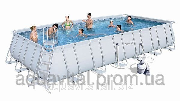 The pool (rectangular) frame BestWay 56279 (732*366*132 cm) with the ...