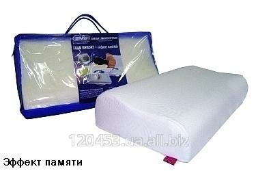 Подушка ортопедическая из Memory foam