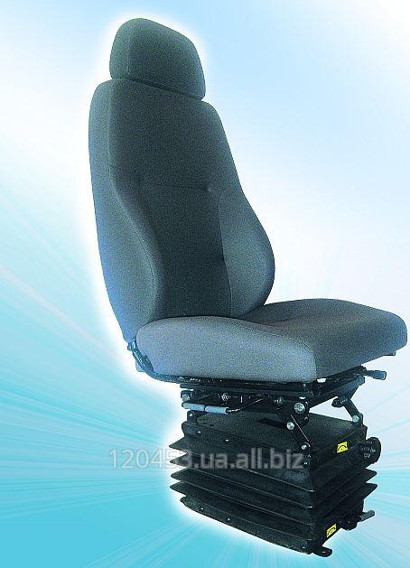 Сиденье водителя на механическом виброзащитном модуле Модель СВ-1.6800.013-02