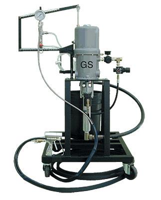 Установки для напыления гелькоута LW05