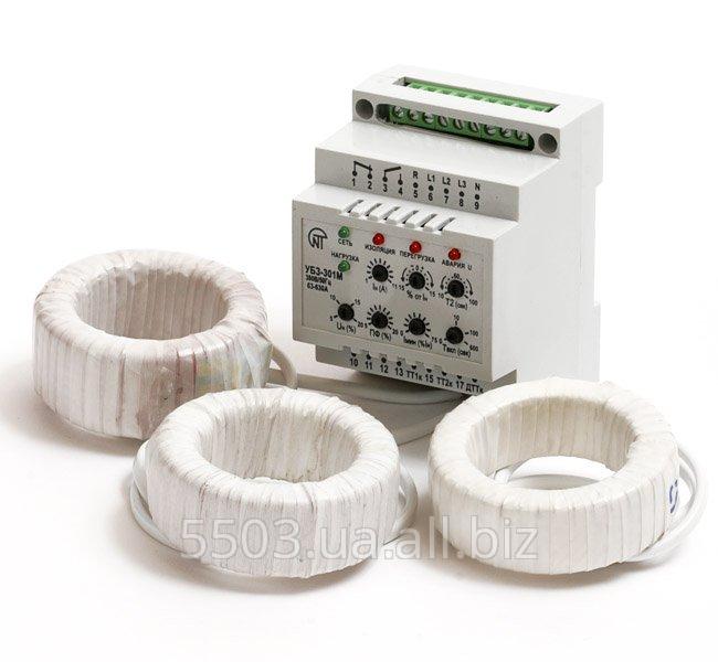 Блок защиты асинхронных электродвигателей УБЗ-301 (63-630 А)