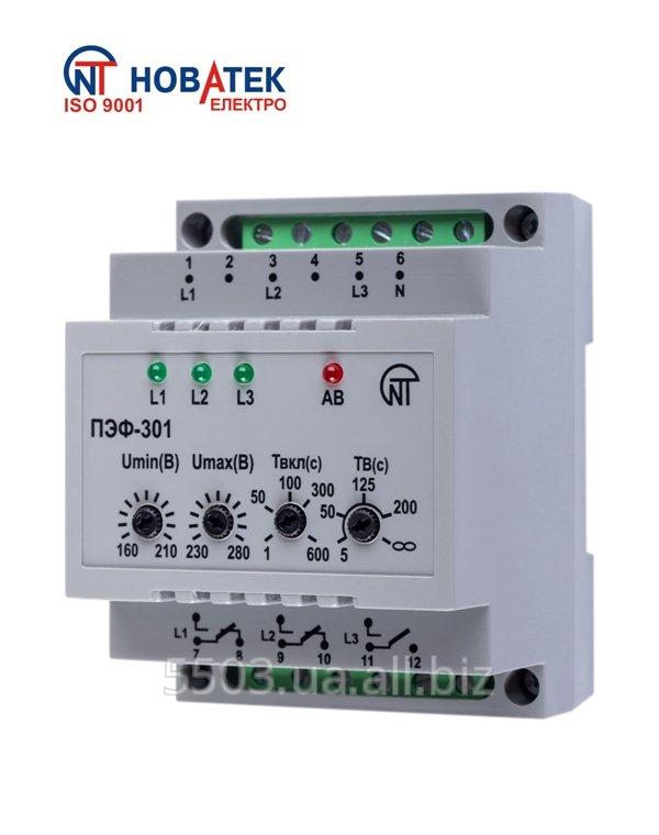 Переключатель автоматический электронный фаз ПЭФ-301