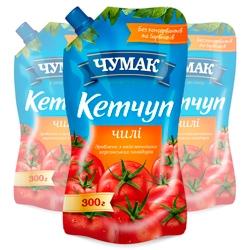 Кетчуп Чили в упаковке дой-пак (300г)