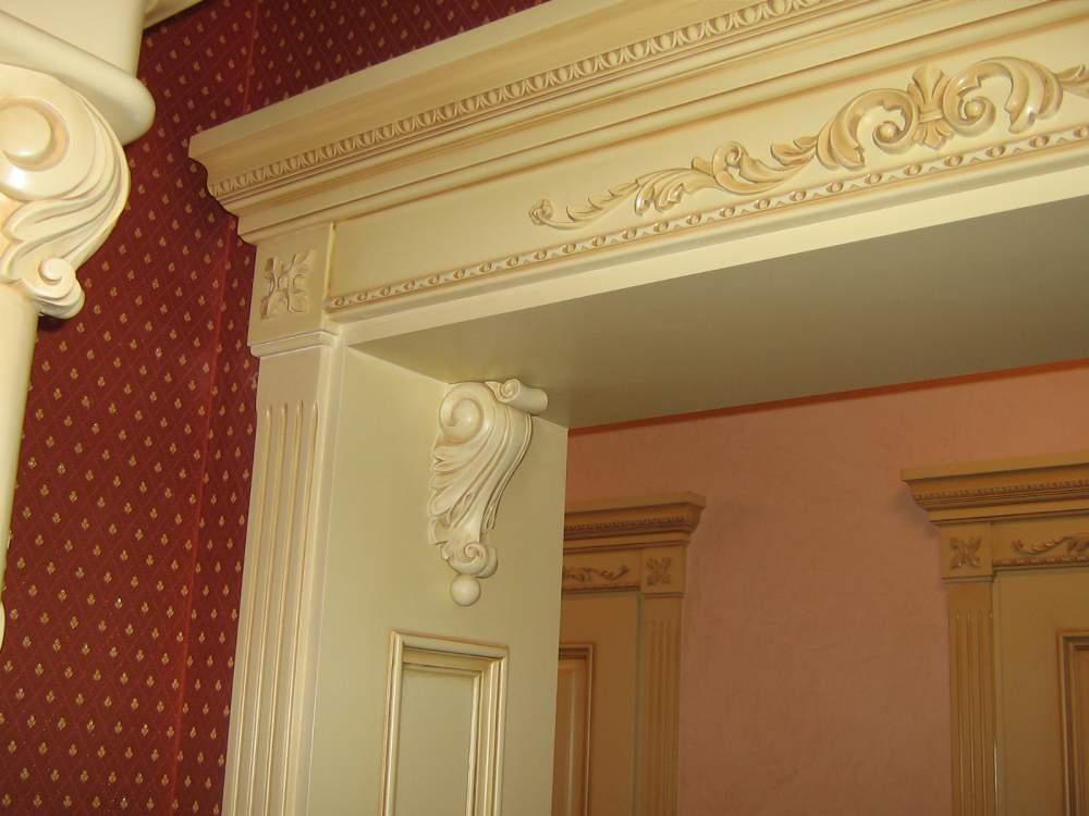 немало рецептов колонны деревянные для дверных проемов фото разобраться этапах работ