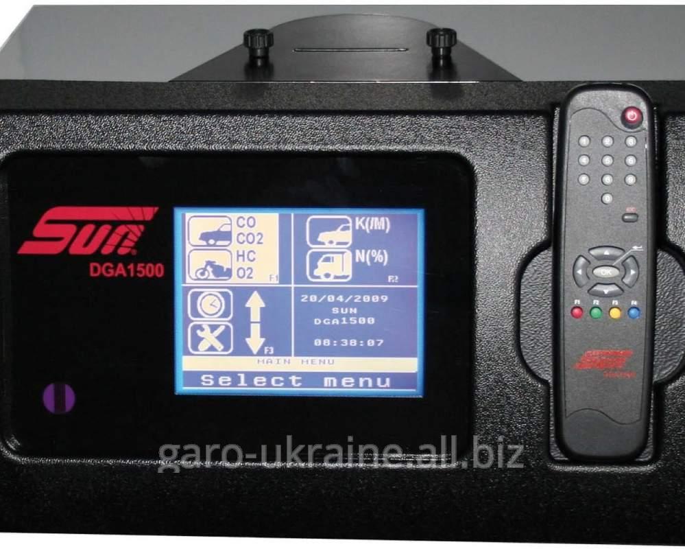 Купить Газоанализатор SUN DGA1500 - Диагностический анализатор выхлопных газов