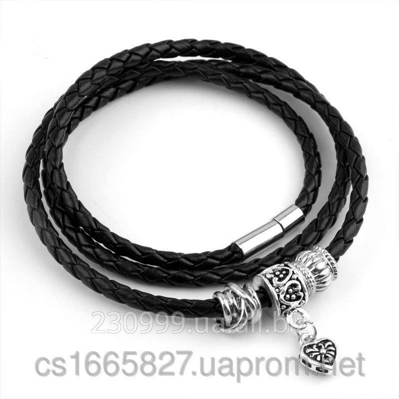 Купить кожаный браслет женский в украине