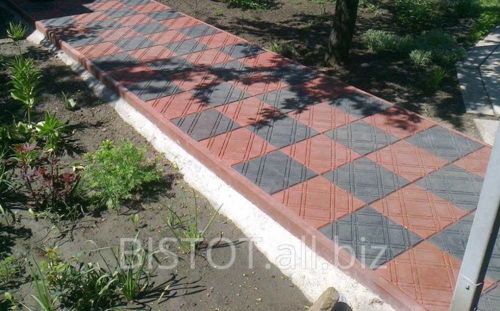 Плитка тротуарная паутинка Бистот™