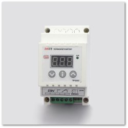 Купить Терморегулятор (термореле) цифровой высокотемпературный на DIN-рейку