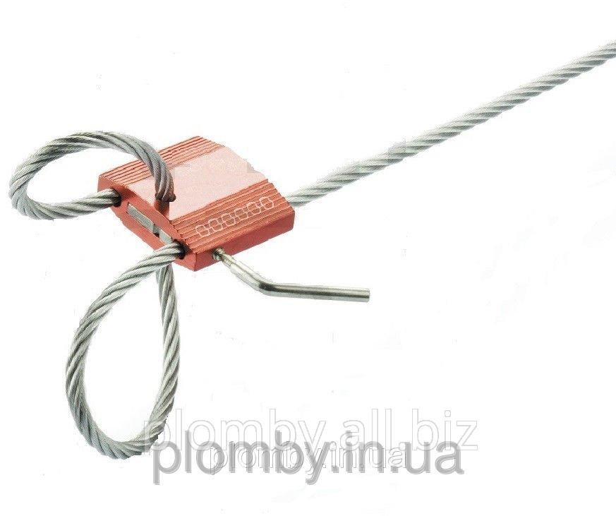 Номерное запорно-пломбировочное устройство ЗПУ Росток-М 450мм