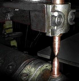 Электроды из БрХ для контактной сварк. Электроды из благородных металлов