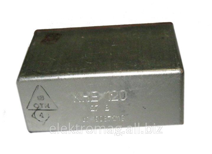 Контактор электромагнитный КНЕ-120 24В