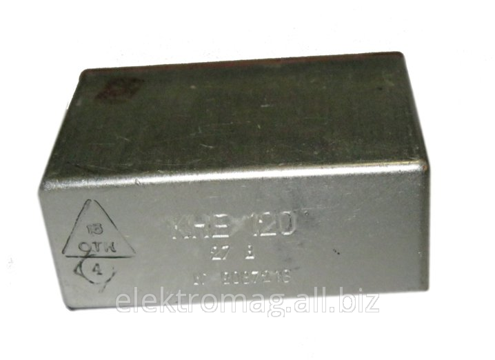 Контактор электромагнитный КНЕ-120 12В