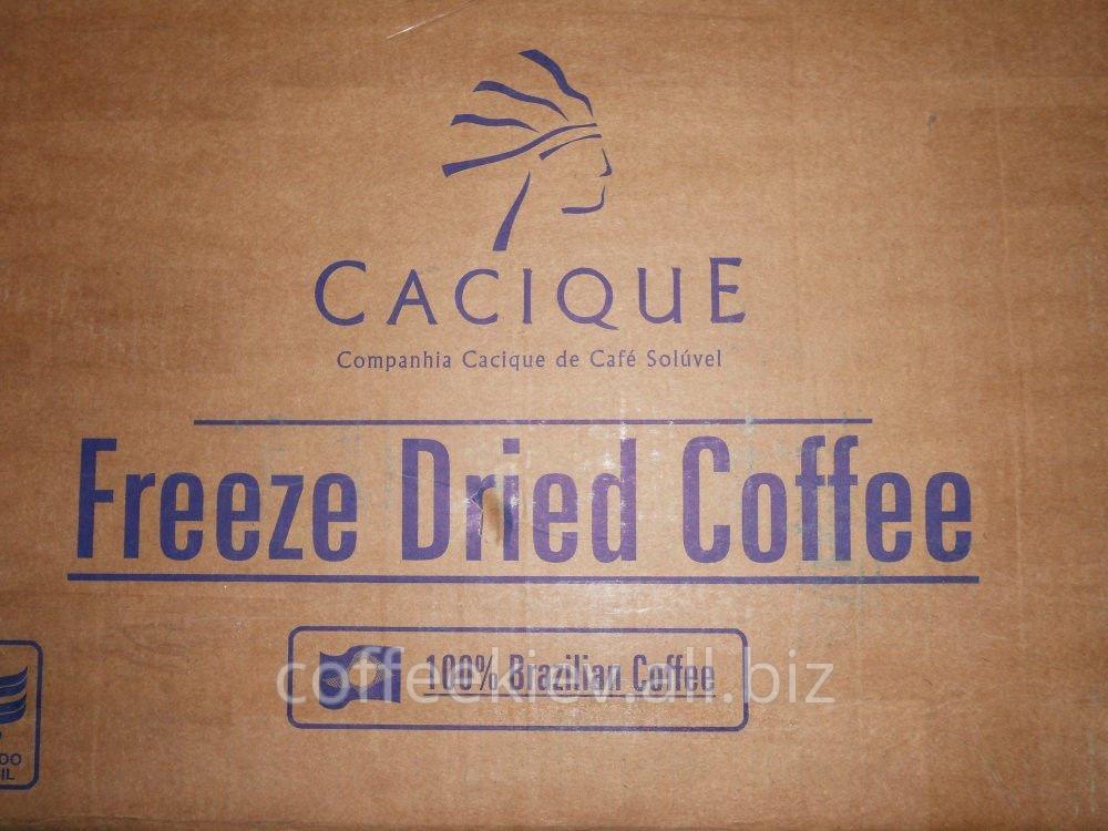 Кофе сублимированный Касик Cacique вес 28 кг в ящике