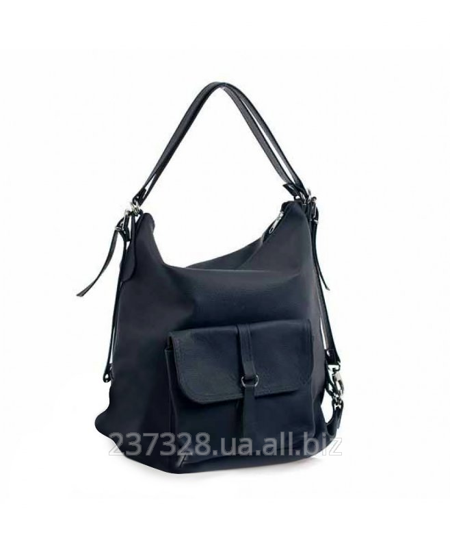 сумка-рюкзак женская кожаная фото