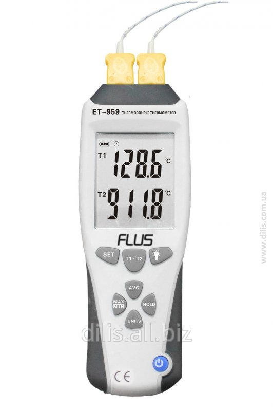 Thermometer ET-959 with thermocouple and J-K type