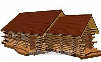 Nhà làm bằng gỗ hoang dại