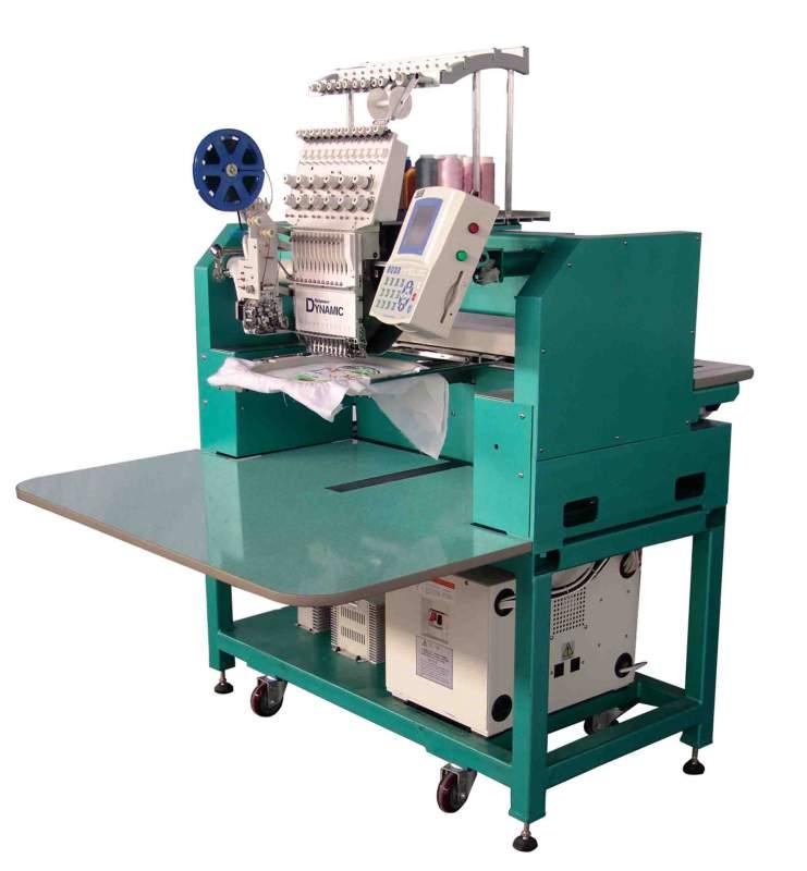 Купить Вышивальная машина, вышивальный промышленный автомат Richpeace RPED-TC-1201 1-головочная 12-цветная