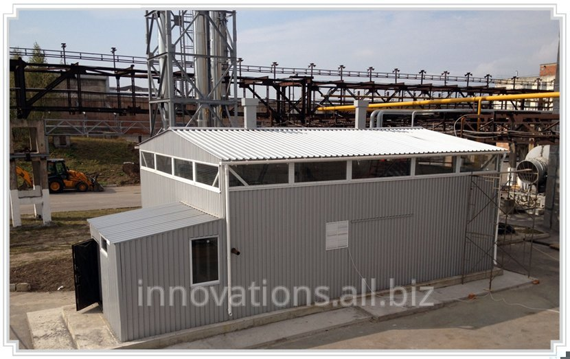 Buy Innovation: Installation for recovery of heat of flue gases of an apartment house