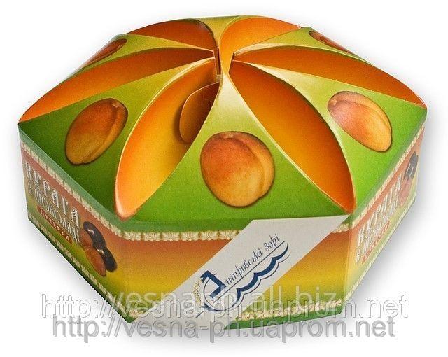 Коробка картонная для торта