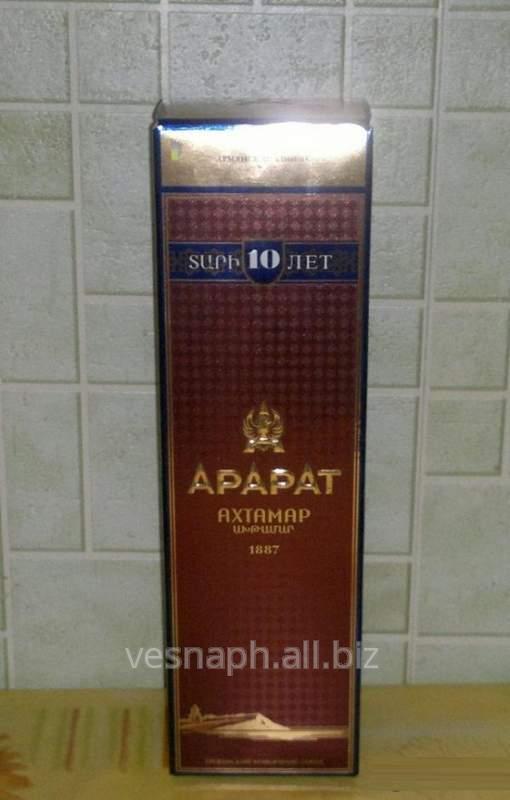 Упаковка премиум-класса для алкогольной продукции, коньяка, водки и прочего