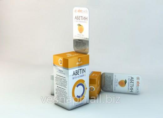 Упаковка картонная для лечебных мазей и других лекарственных средств
