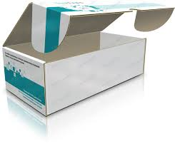 Упаковка картонная для медицинских приборов
