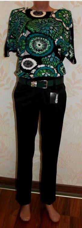 Купить Качественные черные классиччческие брюки