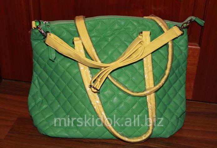 736ebcc35258 Модная зеленая сумка купить в Киеве