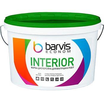 Дисперсионная краска для внутренних работ Interior Econom 10 л