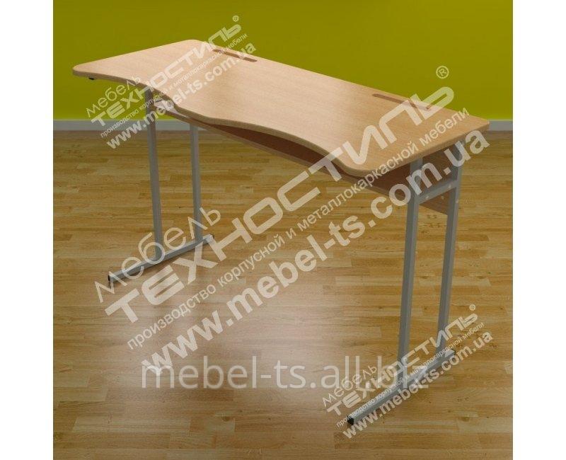 Стол ученический двухместный УС 20 (МДФ)