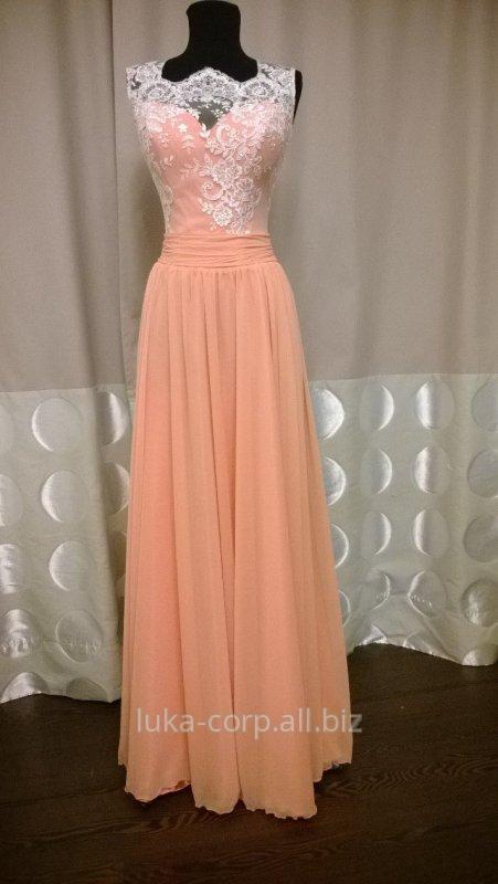 Платье нежного цвета купить