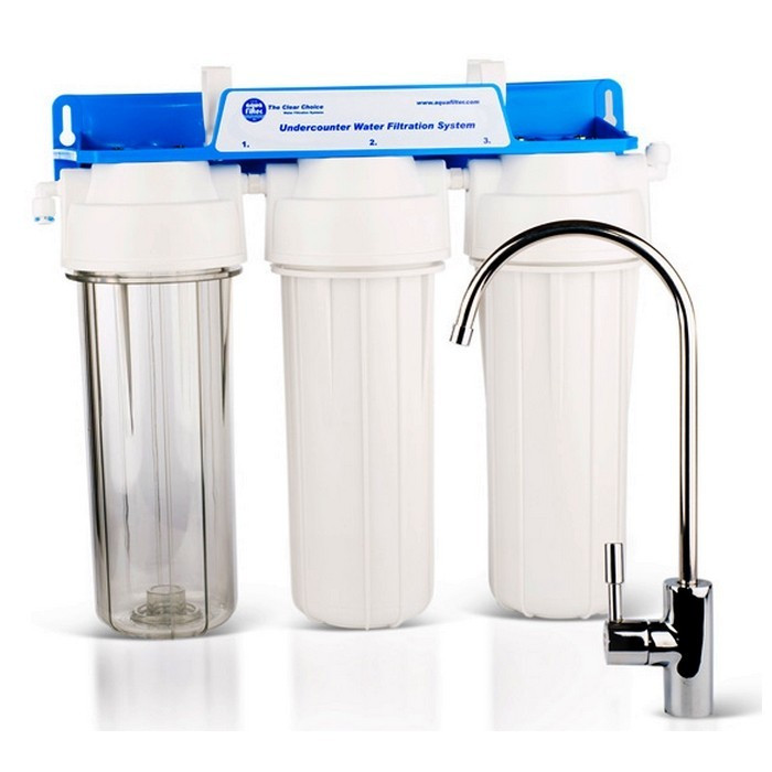 Buy System of water purification, three-stage system under a kitchen sink, FP3-K1
