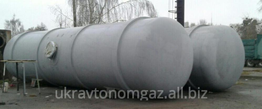 Надземная газовая емкость для сжиженного газа, резервуары для пропан-бутана 55 кубов, гнс