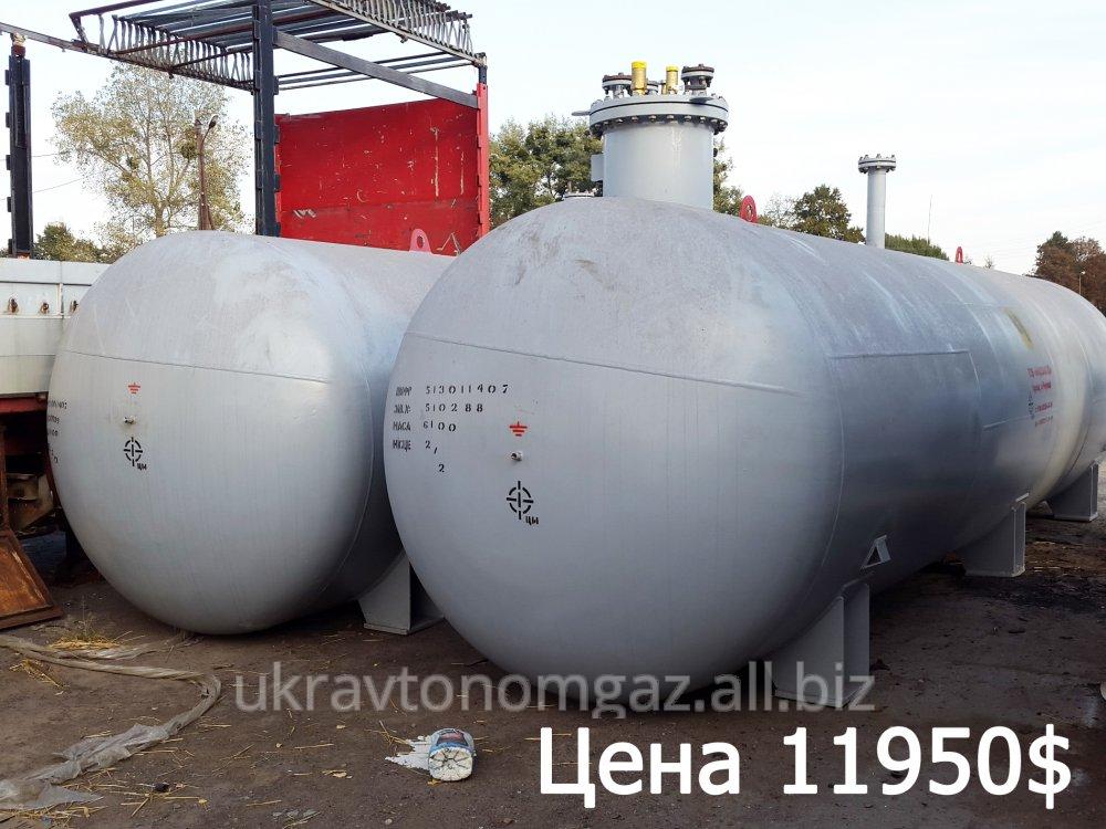 Емкость для пропан-бутана, 25кубов, подземная, резервуар для сжиженного газа