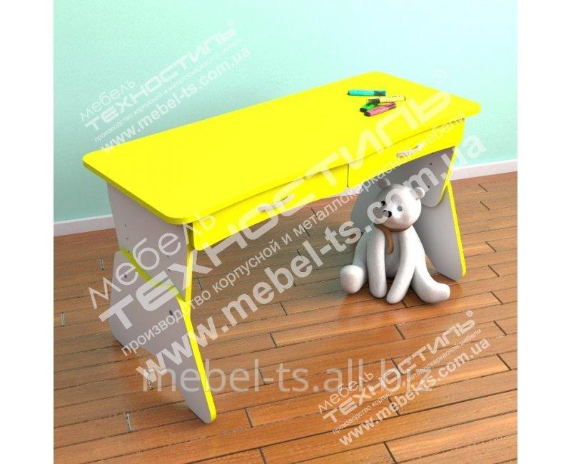 Столик двухместный с ящиками и регулировкой высоты ЦВЕТ