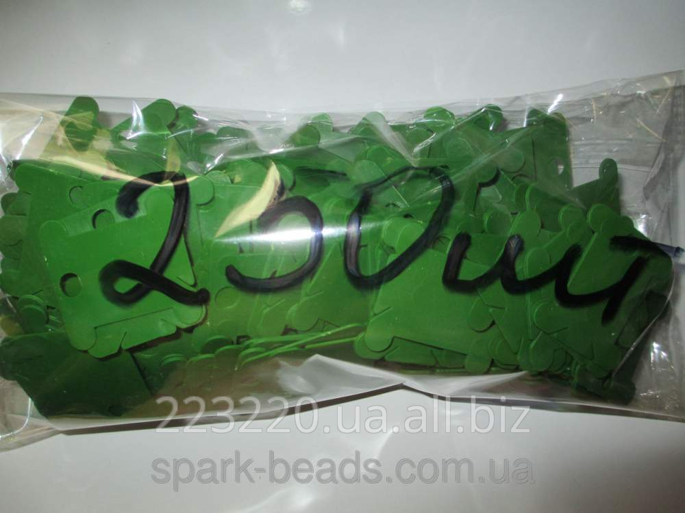 Купить Шпули пластиковые для мулине зеленые (250 шт)