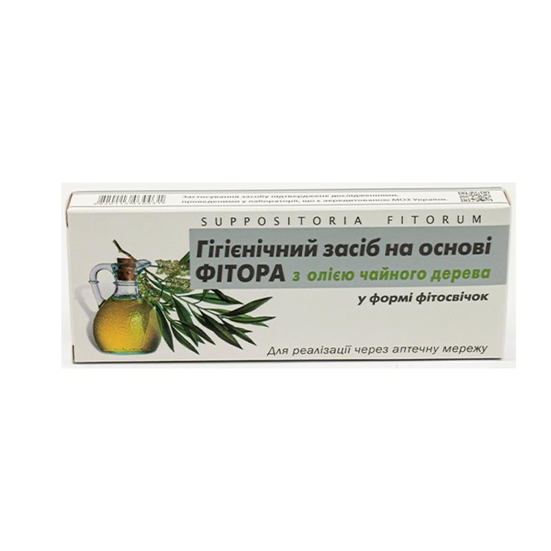 Купити Засіб фіторовое з олією чайного дерева у формі фітосвечу