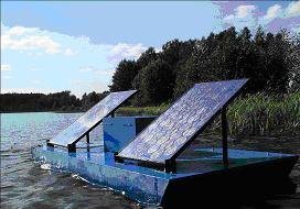 The SUNENERGY™ system for aerator power supply