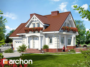 Проектирование домов - Дом под горной сосной (П)